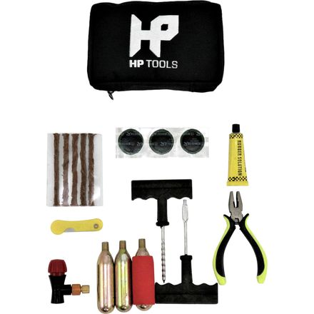 HP Tools Complete Tire Repair And Inflation Kit