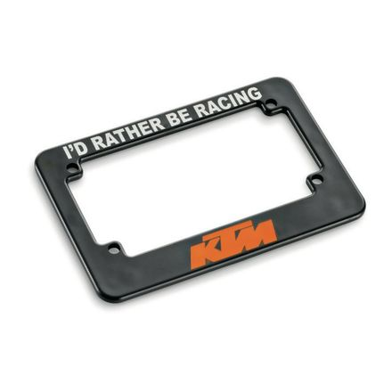 KTM PowerWear Motorcycle License Plate Holder