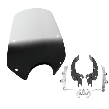 Memphis Shades Del Rey Windshield With Trigger-Lock Mounting Kit