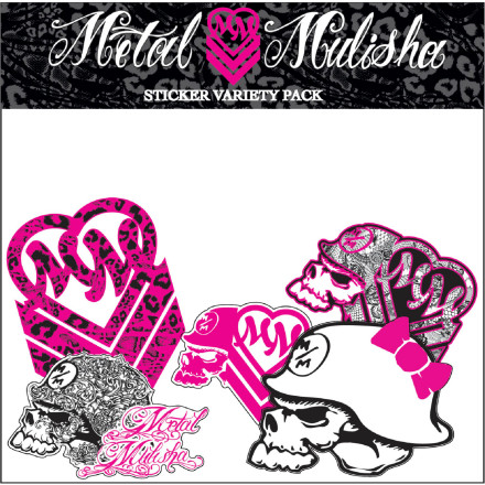 Metal Mulisha Maiden Variety Sticker Pack
