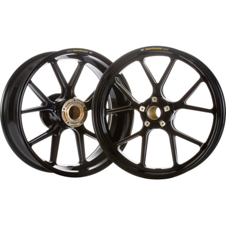 Marchesini Forged Magnesium SBK Front/Rear Wheel Combo With Sprocket Carrier