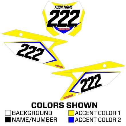 MotoSport Racer Series Backgrounds - Suzuki