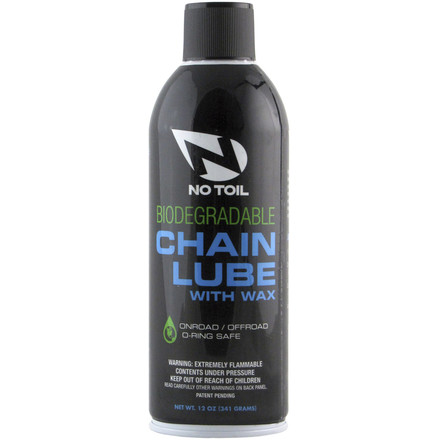 No Toil Biodegradable Chain Lube With Wax
