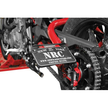 New Rage Cycles Side Mount License Plate Bracket