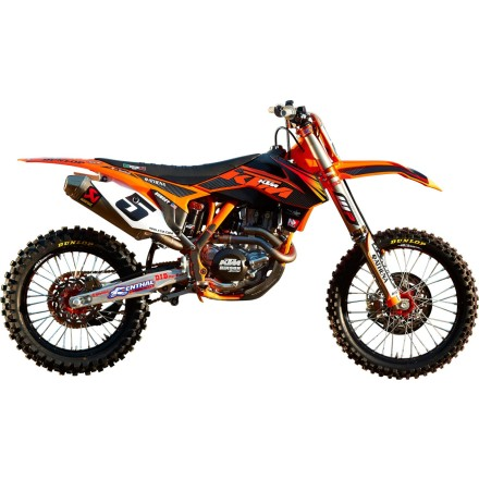 N-Style 2012 Factory Team Graphics Kit - KTM