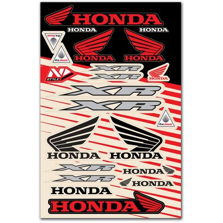 N-Style Universal Decal Kit - Honda XR