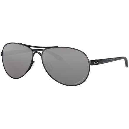 f49bb8e6e7 Oakley Feedback Polarized Sunglasses - Women s. Polished Black W  Prizm  Black Polarized