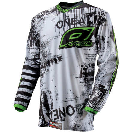 O'Neal 2013 Youth Element Jersey - Toxic [obs]