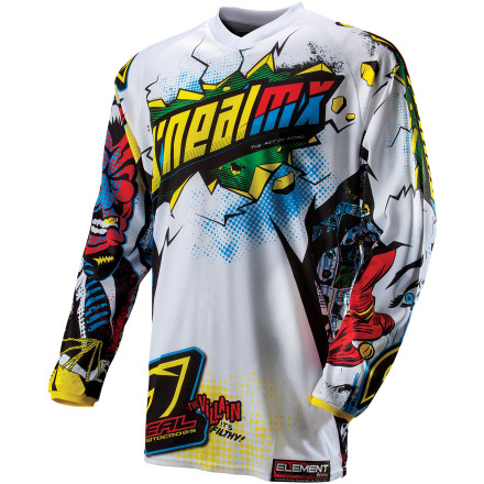 O'Neal 2013 Youth Element Jersey - Villain [obs]