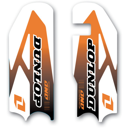 One Industries 2011 Fork Guard Decals - Ktm [obs]
