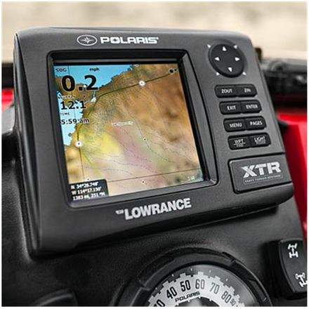Polaris Genuine Accessories Lowrance GPS Mount