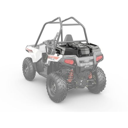 Polaris Genuine Accessories Lock & Ride Rear Cargo Box