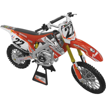New Ray Toys 1:6 2012 Chad Reed 22 Motorsports