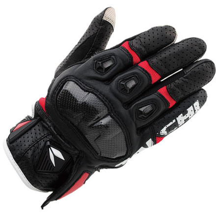 RS Taichi Armed Leather Mesh Gloves - RST410