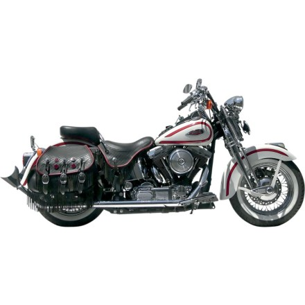 Samson True Dual Crossover Full System With Upsweep Longtail Mufflers