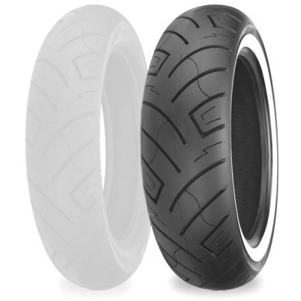 Shinko 777 Front Tire - Whitewall