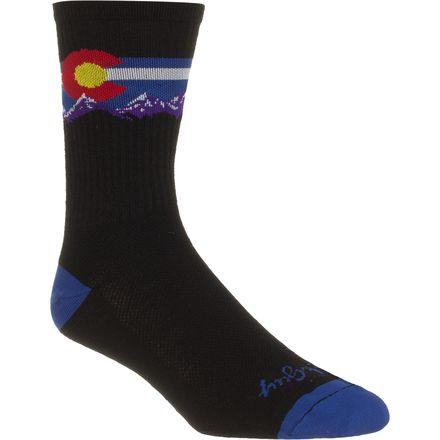 SockGuy Colorado Mountain 6in Wool Socks