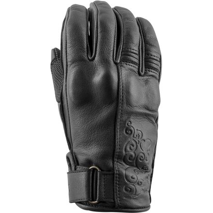 Speed & Strength Women's Black Heart Gloves 1330305