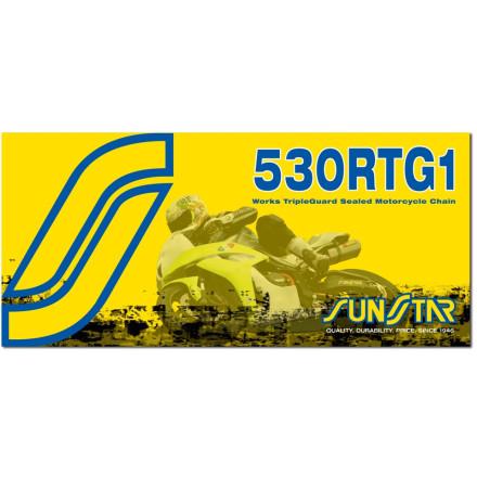 Sunstar 530 RTG1 Works Tripleguard Sealed Racing Chain