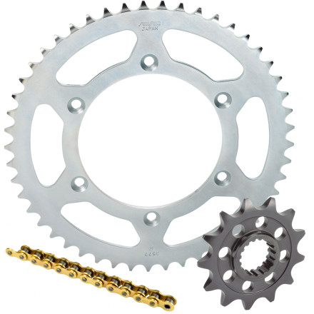 Sunstar Chain & Steel Sprocket Combo