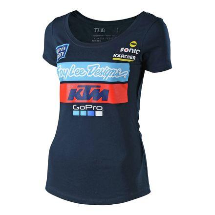 c62783cc0ca Troy Lee Designs 2018 Women s KTM Team T-Shirt