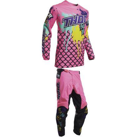 New Boyz 2020 Thor 2020 Pulse Pant/Jersey Combo   Fast Boyz   MotoSport