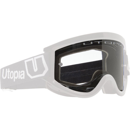 Utopia Goggles Too Dirty Clear Vision System Lens Clear [obs]