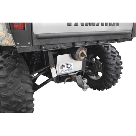 UTV Tech Differential Protector And License Plate Mount