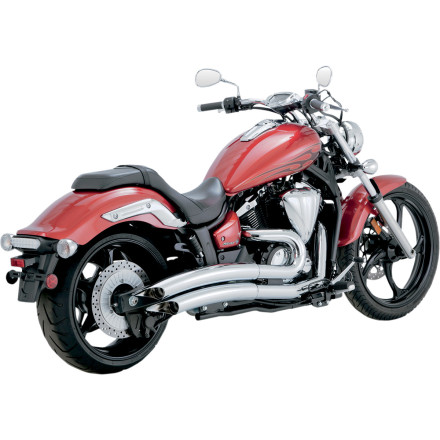 Vance & Hines Big Radius 2-Into-2 Exhaust