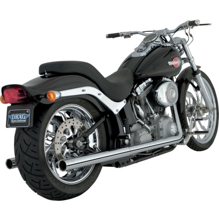 Vance & Hines Softail Duals Exhaust