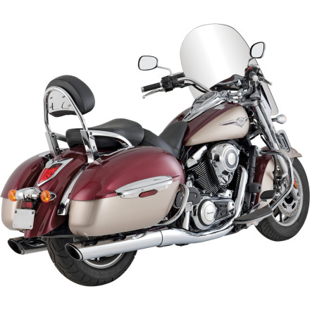 Vance & Hines Twin Slash Rounds Slip-On Exhaust