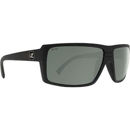 e0ae5264e7c VonZipper Snark Wildlife Polarized Sunglasses. Black Satin Wild Grey Silver  Flash Polar