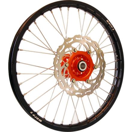 Warp 9 Complete Front Wheel