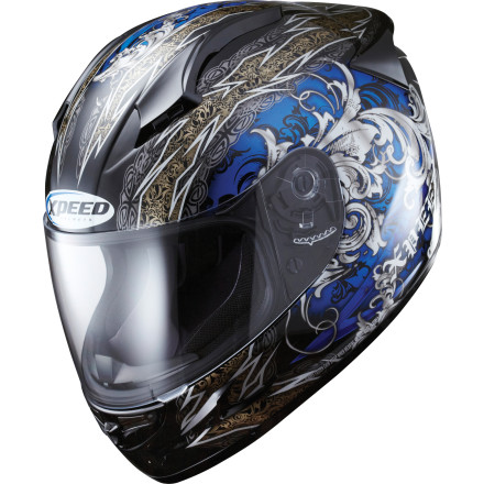 Xpeed XF708 Helmet - Secret