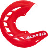 Acerbis X-Brake Front Disc Cover - 2013 KTM 300XCW Acerbis Spider Evolution Disc Cover Mounting Kit