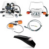 Baja Designs EZ Mount Dual Sport Kit - Baja Designs Enduro Lighting Kit Option 2