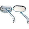 Show Chrome Oval Cruiser Mirrors - 2005 Yamaha Royal Star 1300 Venture - XVZ13TF Show Chrome Front LED Turn Signal Conversion Kit