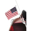 Show Chrome Flag Pole Mount - 2000 Kawasaki Vulcan 500 LTD - EN500C Show Chrome Helmet Holder Pin - 10mm