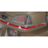 Show Chrome LED Trunk Lights - Kuryakyn LED Saddlebag Bottom Trim Molding