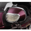 Show Chrome Mirror Back Accent Trim - Kuryakyn LED Saddlebag Bottom Trim Molding