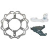 Braking W-OPEN Oversized Brake Rotor Kit - Front - 2005 Yamaha YZ450F Braking W-FIX Brake Rotor - Rear