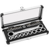 BikeMaster Gear Drive Ultra Lite Metric Socket Set - Applied 9 Piece Ball Point Allen Set