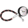 BikeMaster Dial Type Air Pressure Tire Gauge With Hose - BikeMaster 2-In-1 Tire Gauge