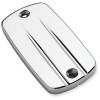 Cobra Brake Reservoir Cover - Swept - 1999 Honda Magna 750 - VF750C Show Chrome Brake Side Switch Box Housing