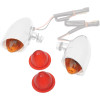 Drag Specialties Mini Retro-Style Marker Light Replacement Lenses - Drag Specialties Bullet Marker Light