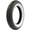 Dunlop Harley Davidson D402 Front Tire - Wide Whitewall - Dunlop Harley Davidson D402 Rear Tire - Wide Whitewall