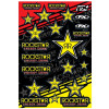 Factory Effex Rockstar Sticker Sheet - Factory Effex Monster Energy XL Sticker Kit Sheet