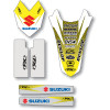 Factory Effex Standard Trim Kit - Suzuki - Factory Effex 2013 Fork Guard Graphics - Suzuki