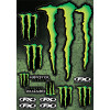 Factory Effex Monster Energy Sticker Sheet - 1996 Honda CR250 Factory Effex All-Grip Seat Cover