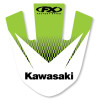 Factory Effex 2013 Front Fender Decal - Kawasaki - Factory Effex EVO 9 Graphics - Kawasaki